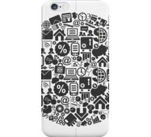 Business a sphere iPhone Case/Skin