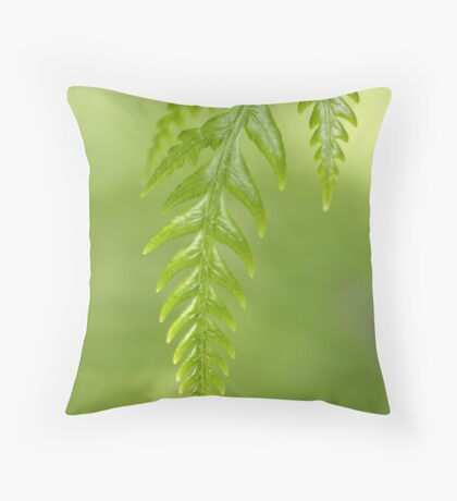 autumnal beginnings Throw Pillow