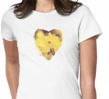 Happy Spring - JUSTART © Womens Fitted T-Shirt