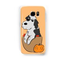 Fall Puppy! Samsung Galaxy Case/Skin