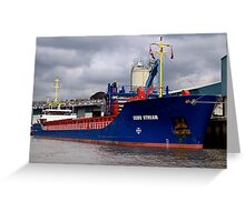 Starboard View Greeting Card