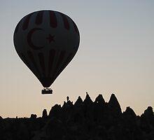 Ballooning Over Cappadocia by Lana Callaby