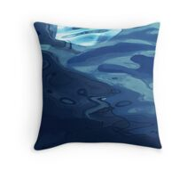 Paper boat 2 Throw Pillow