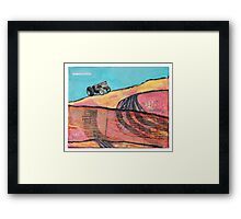 tractor scape Framed Print