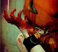Pumpkin Head by WingedCreations