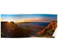 Grand Sunset Poster