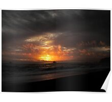 Rialto Sunset Poster
