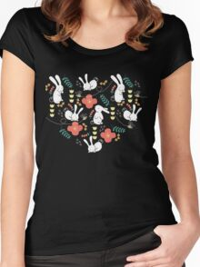 Rabbit Season Women's Fitted Scoop T-Shirt