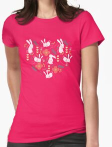Rabbit Season Womens Fitted T-Shirt