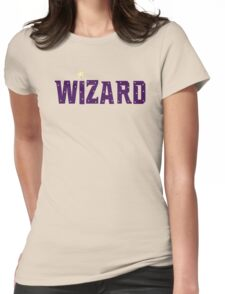 Wizard Womens Fitted T-Shirt