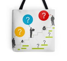 Business ladder3 Tote Bag