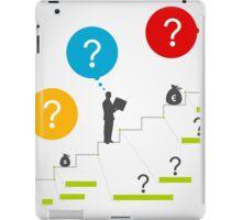 Business ladder3 iPad Case/Skin