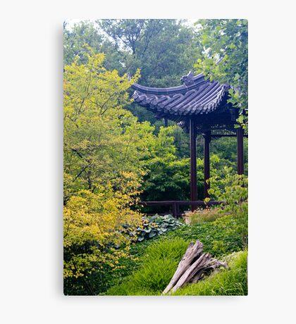Asian garden  Canvas Print