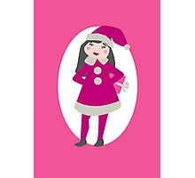 Girl Elf in Pink Photographic Print