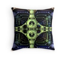 Intersection 3d Throw Pillow