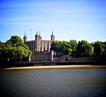 Tower Of London by Lisa Hafey