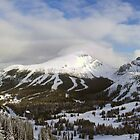 Lake Louise Ski Resort (Pano) by Ryan Davison Crisp