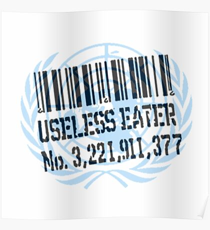 United Nations Useless Eater #.... Poster