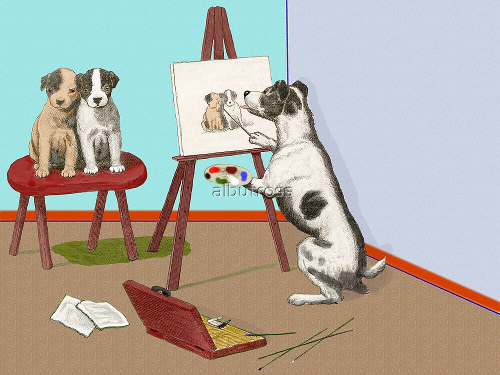The Dogs of Art. by albutross