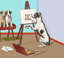 The Dogs of Art. by albutross