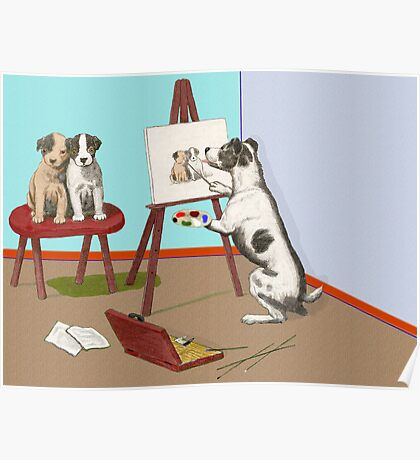 The Dogs of Art. Poster