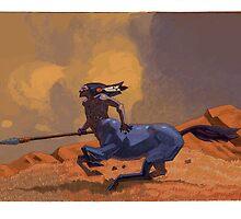 galloping centaur by David  Kennett