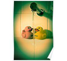 Bathroom Romance Poster