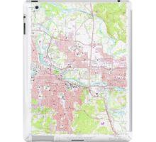 USGS Topo Map Oregon Eugene East 279826 1967 24000 iPad Case/Skin