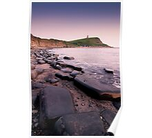 Kimmeridge sunset Poster