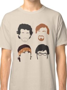 Flight of the Conchords Silly-ettes: 4-up Classic T-Shirt