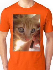 Red kitty 1 Unisex T-Shirt