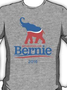 Bernie Republicans For Bernie T-Shirt