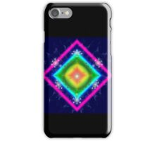 Circles and squares....fractal art. iPhone Case/Skin