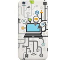 Business the computer iPhone Case/Skin