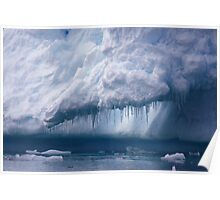 Ice crystals 2 Poster