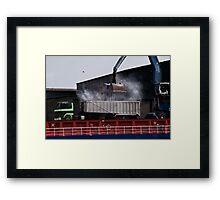 Dusted Framed Print