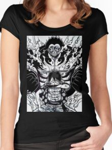 Luffy Gear 4 Women's Fitted Scoop T-Shirt