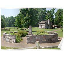 Davy Crockett Birthplace, Tenn. Poster