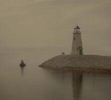 Fog Lifting by Bret
