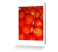 Tomatoes 1 Greeting Card