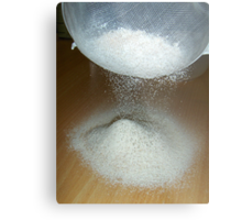 Sieve That Flour Metal Print