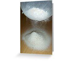 Sieve That Flour Greeting Card