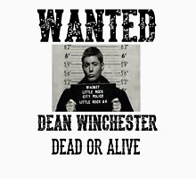 Dean Winchester Wanted Sign Unisex T-Shirt