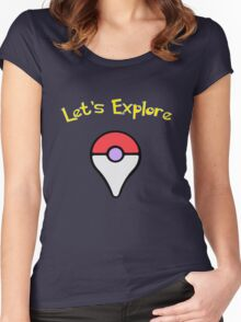 Let's Explore Women's Fitted Scoop T-Shirt