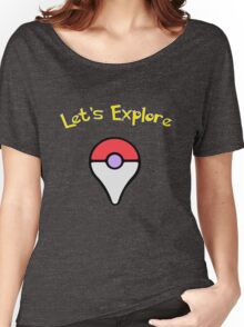 Let's Explore Women's Relaxed Fit T-Shirt