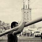 Delft - Market ending by Jean-Luc Rollier