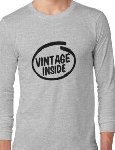 vintage inside Long Sleeve T-Shirt