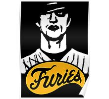The Warriors Baseball Furies Poster