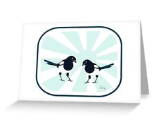 magpie (series) Greeting Card