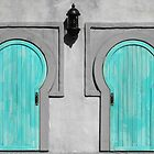 Blue Doors by Karen Kaleta